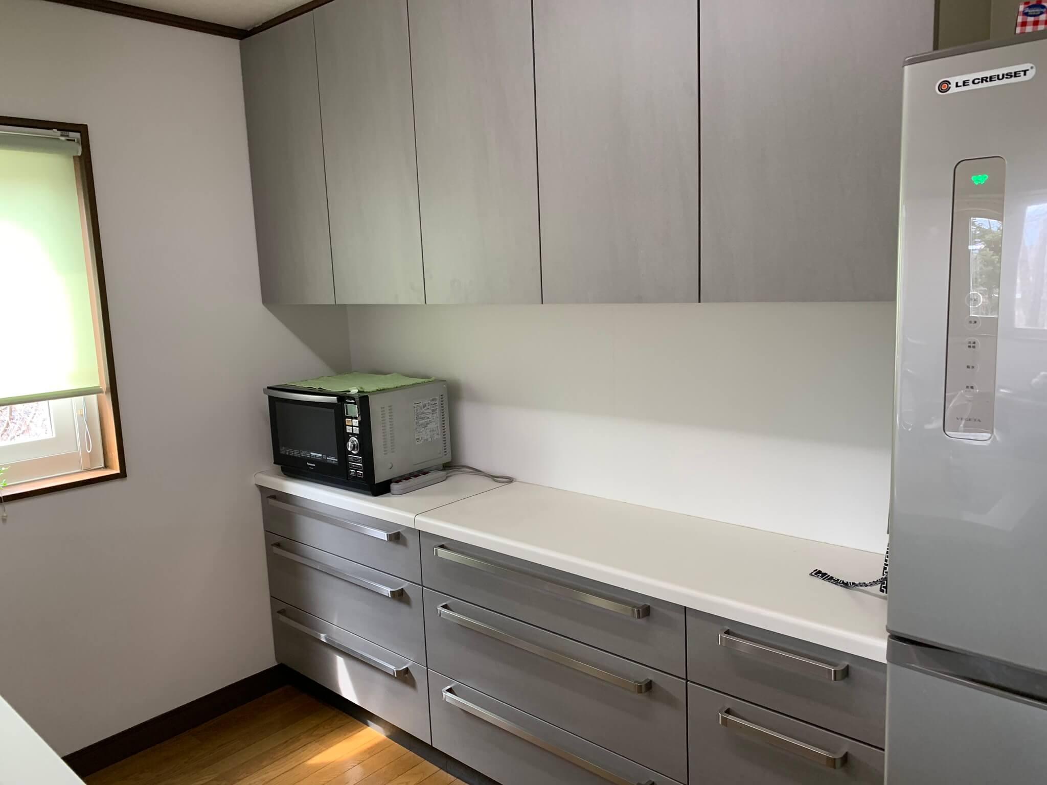 軽井沢町・A様邸オーダーキッチン